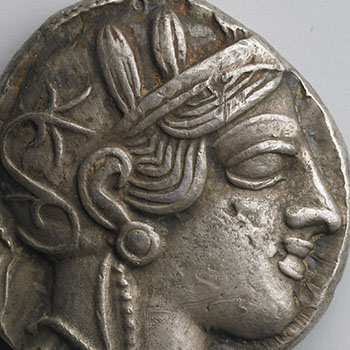 Coin with Athena
