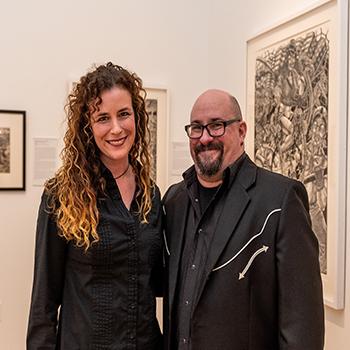 Andi McKenzie and Tom Huck