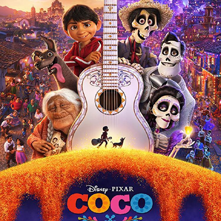 Coco movie poster image