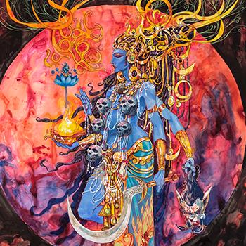 Kali Shanti by Abhishek Singh