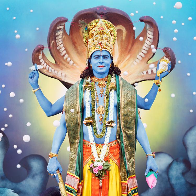 Vishnu by Manjari Sharma