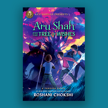 Cover of Aru Shah and the Tree of Wishes