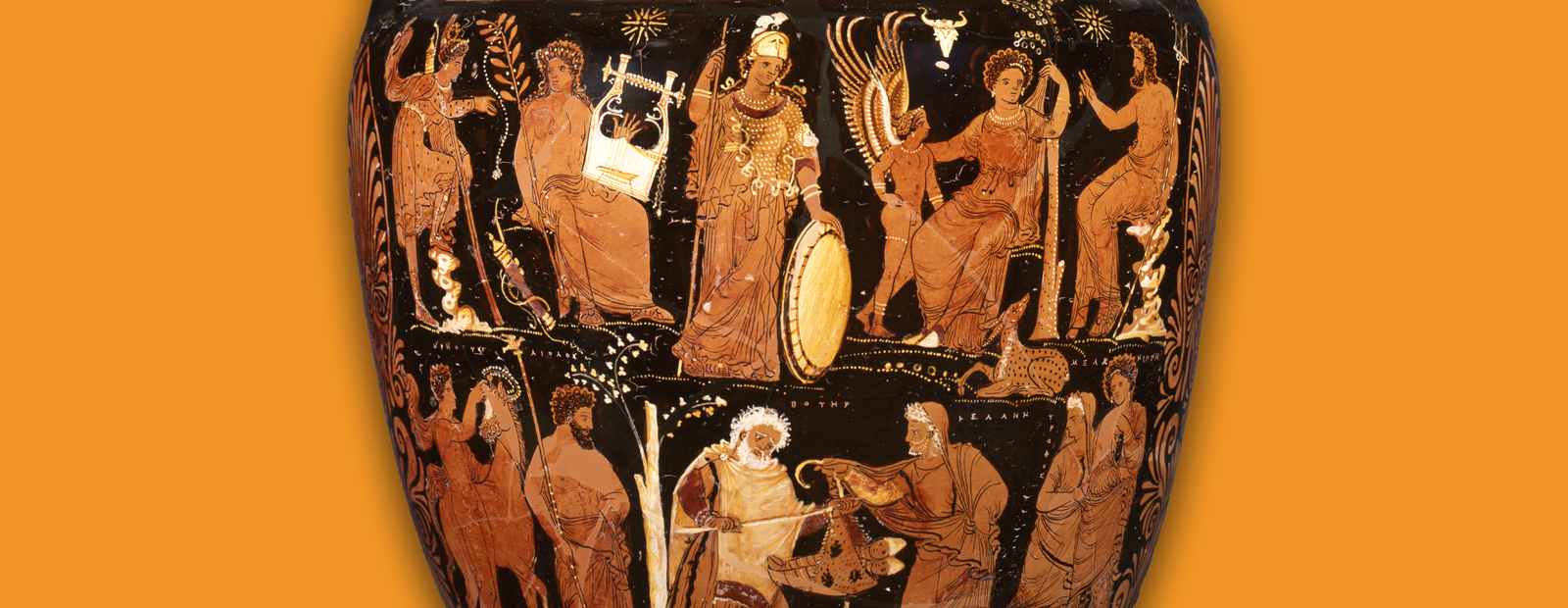 Red-Figure Volute-Krater with the Myth of Melannipe