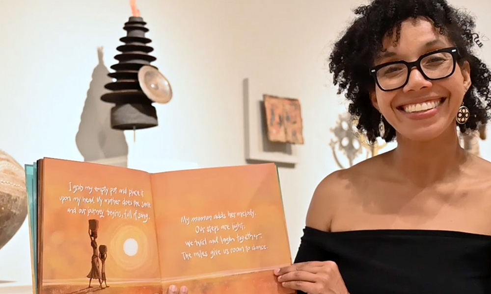 Tiphanie Yanique reads the book The Water Princess