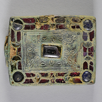 Visigothic belt buckle