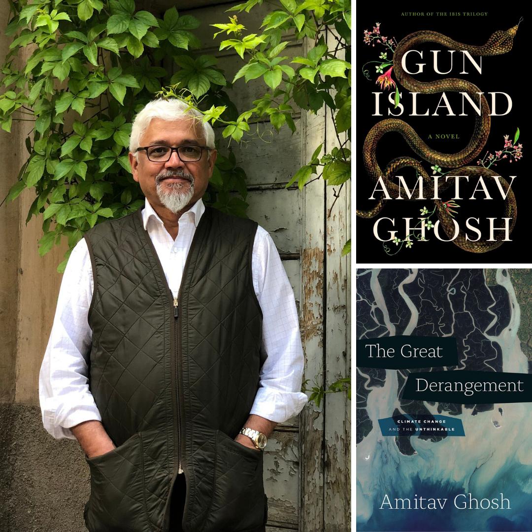 Amitav Ghosh and books