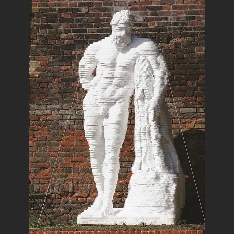 Weary Herakles by Matthew Darbyshire