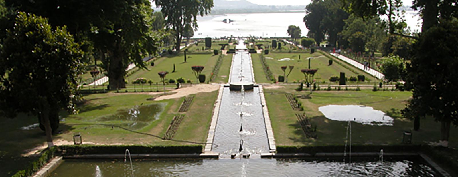 Mughal water garden