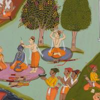 Rama leaves for exile