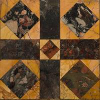Opus sectile floor